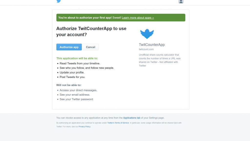 My tweet counts are not correct (TwitCount) - Warfare Plugins