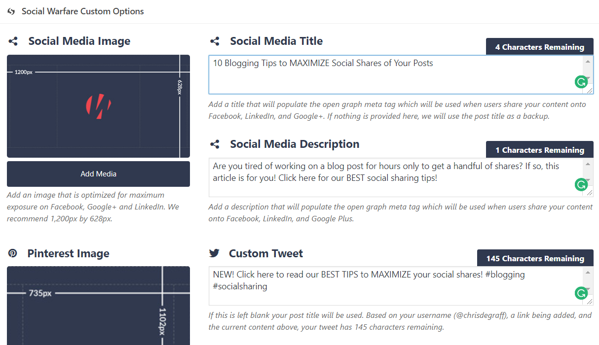 Maximize Your Blog's Social Media Shares w/ Social Warfare