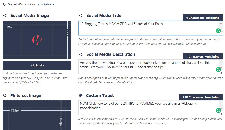 Maximize Your Blog's Social Media Shares w/ Social Warfare