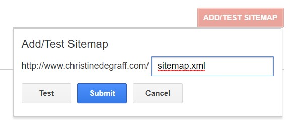 Add your XML sitemap to Google's Search Console.