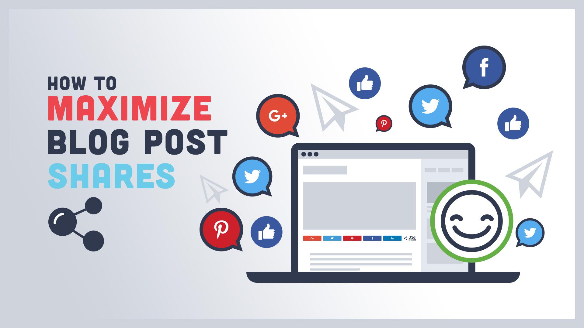 maximize blog post shares