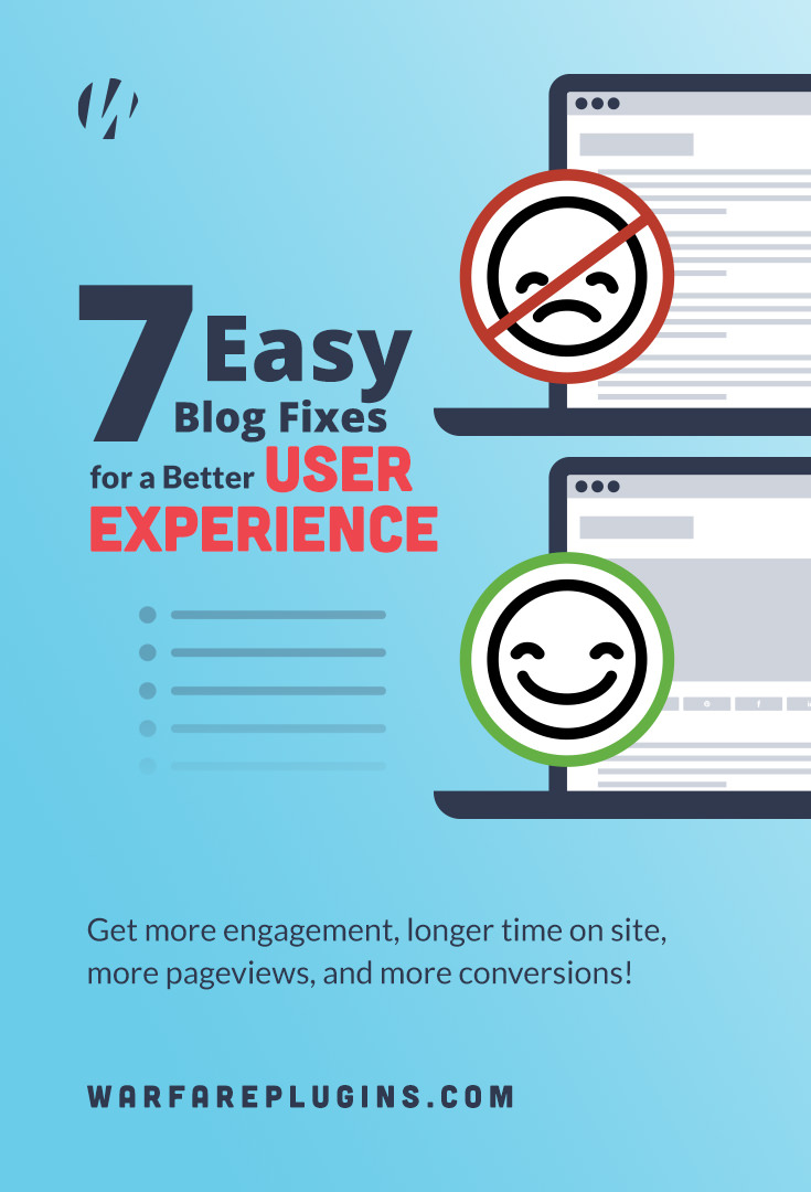 Get more on-site engagement, more page views, longer session times and more conversions by following these tips to better your blog's user experience.