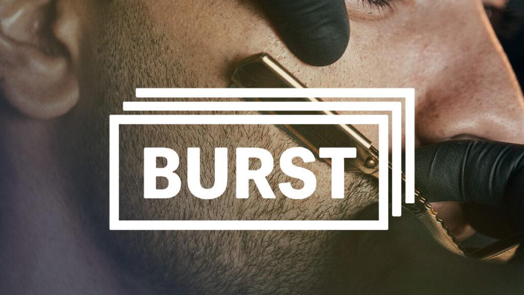 Burst Logo Wallpaper