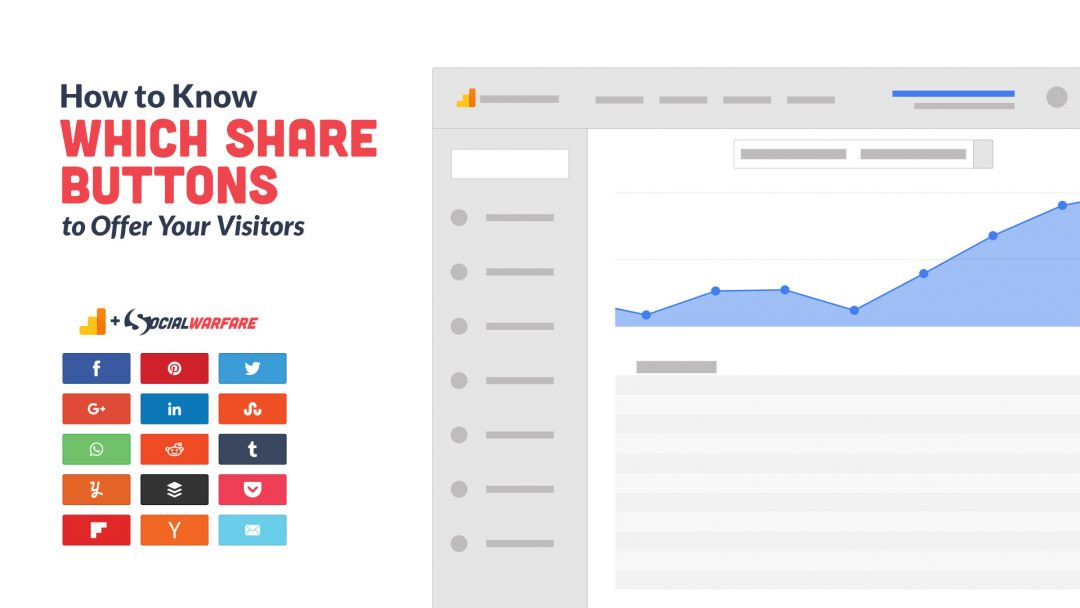 How to Know Which Social Share Buttons to Offer Your Visitors