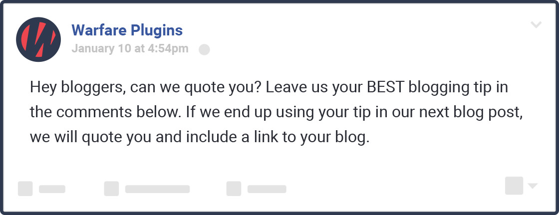 maximize blog post shares question