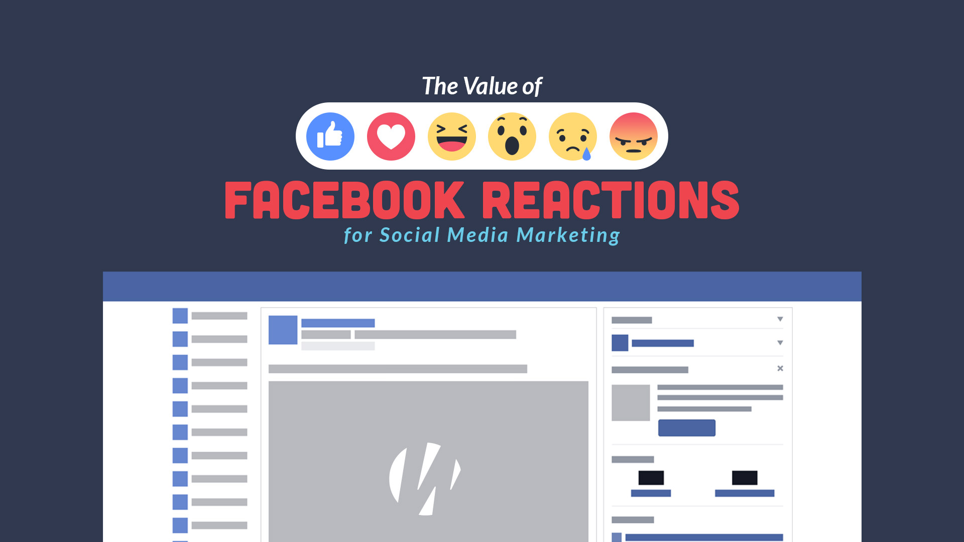 The Value of Facebook Reactions for Social Media Marketing