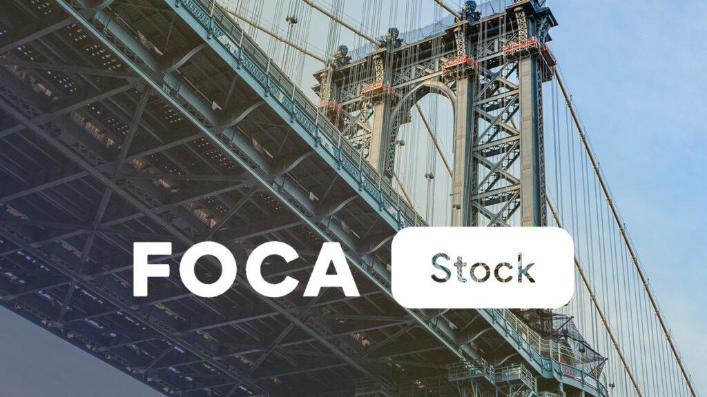 Focastock Logo Wallpaper