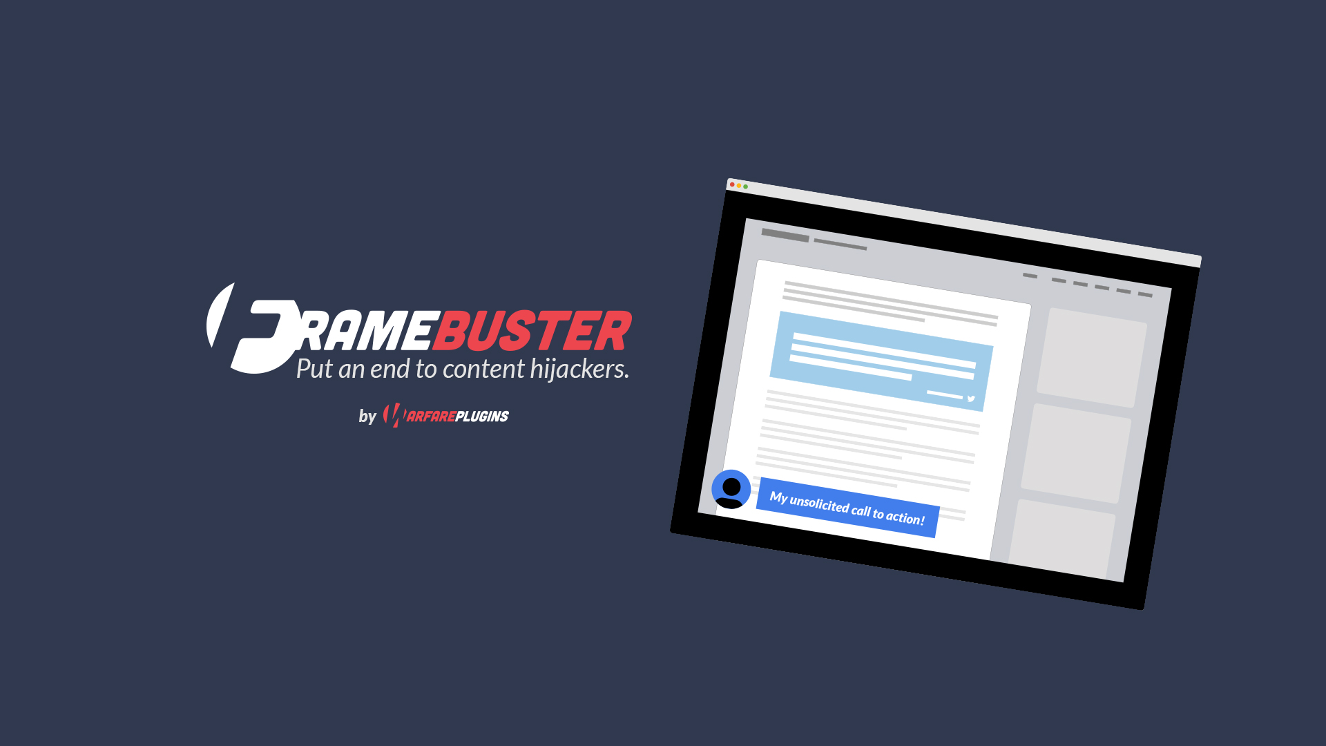 frame buster by warfare plugins