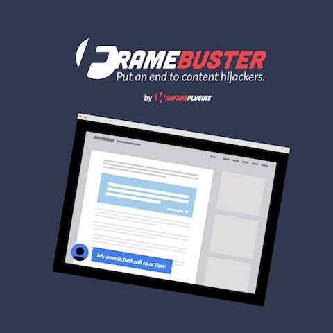 Frame Buster