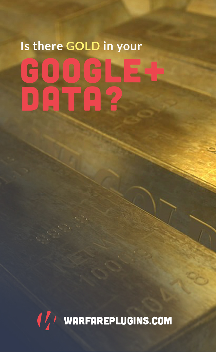 Mining Your Google+ Data for Blog Content Gold