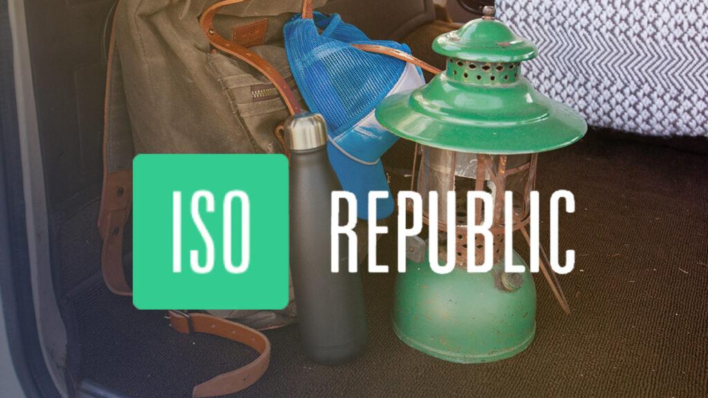 ISO Republic Logo Wallpaper
