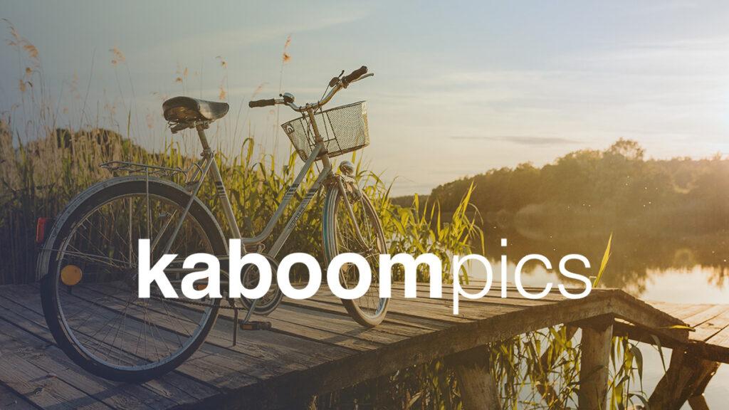Kaboom Pics Logo Wallpaper