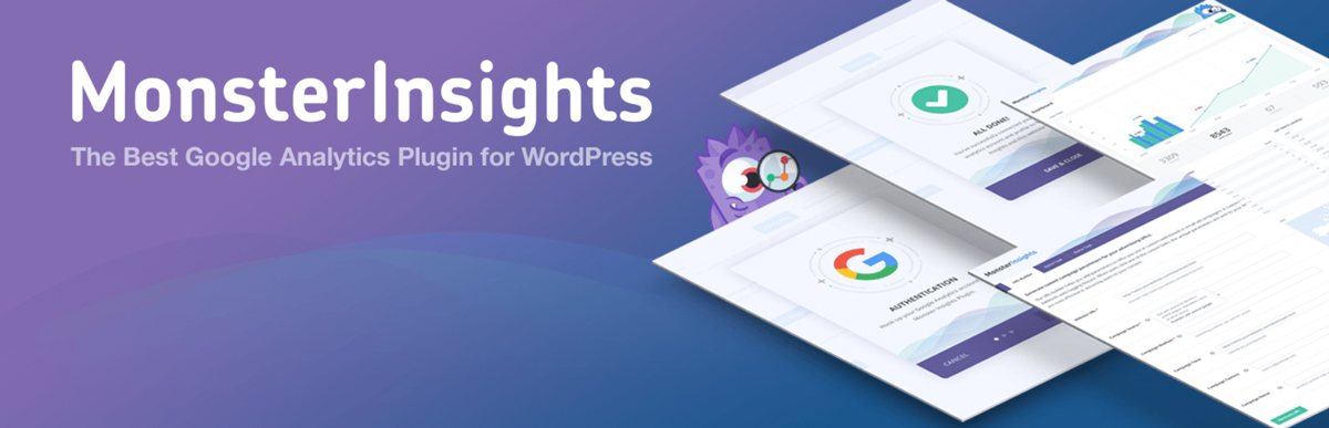 Monster Insights Plugin for WordPress