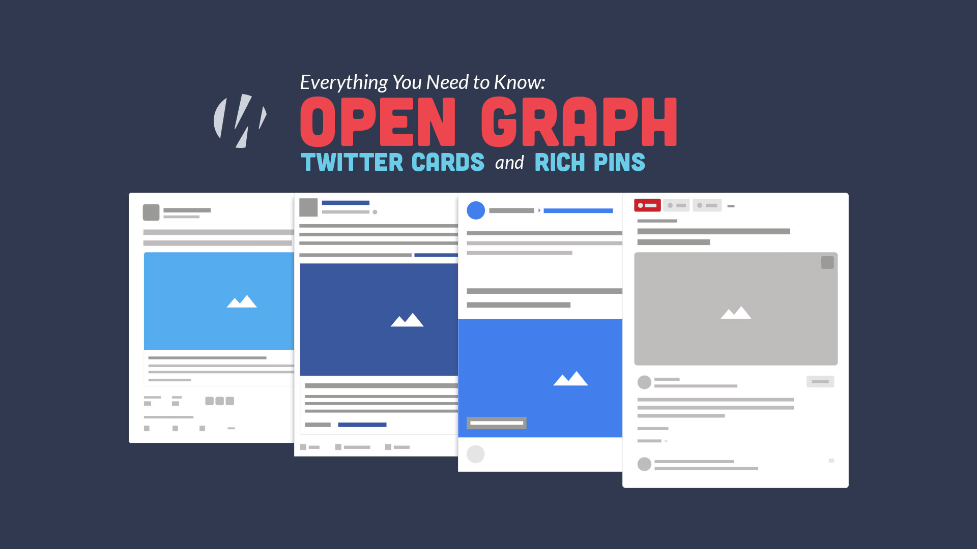 open graph, twitter cards and rich pins