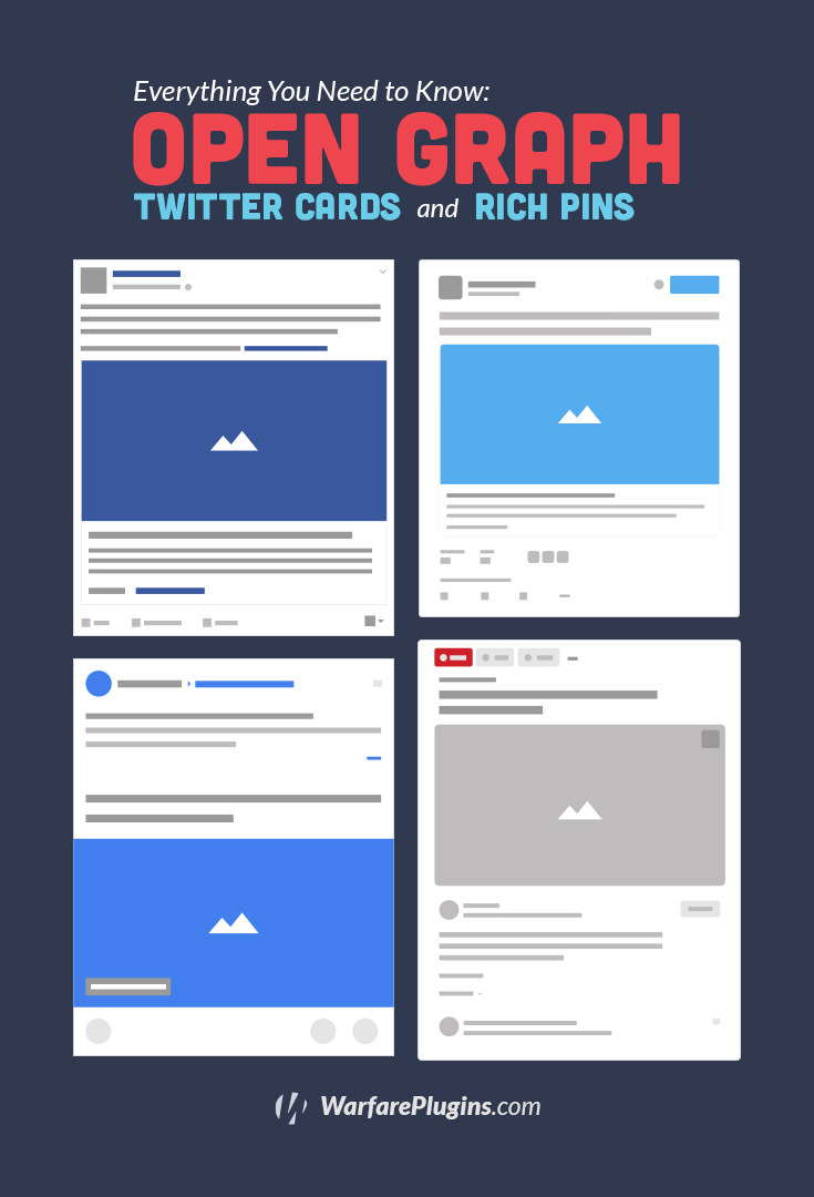Understanding what Open Graph Tags, Twitter Cards and Rich Pins are is the first step to social media conversion optimization.