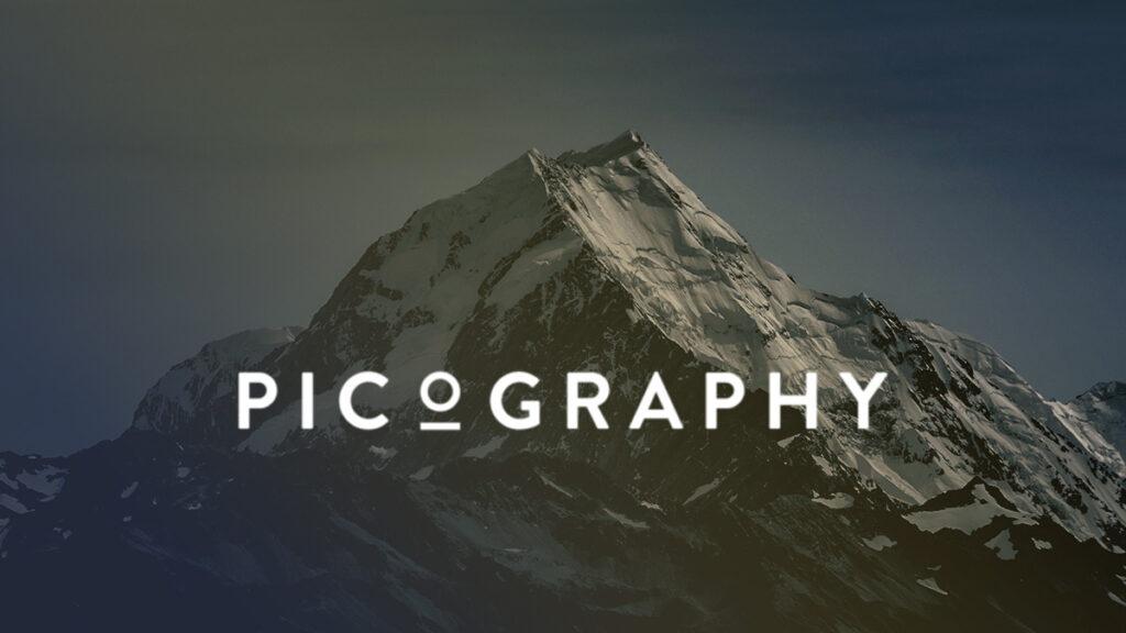Picography Logo Wallpaper