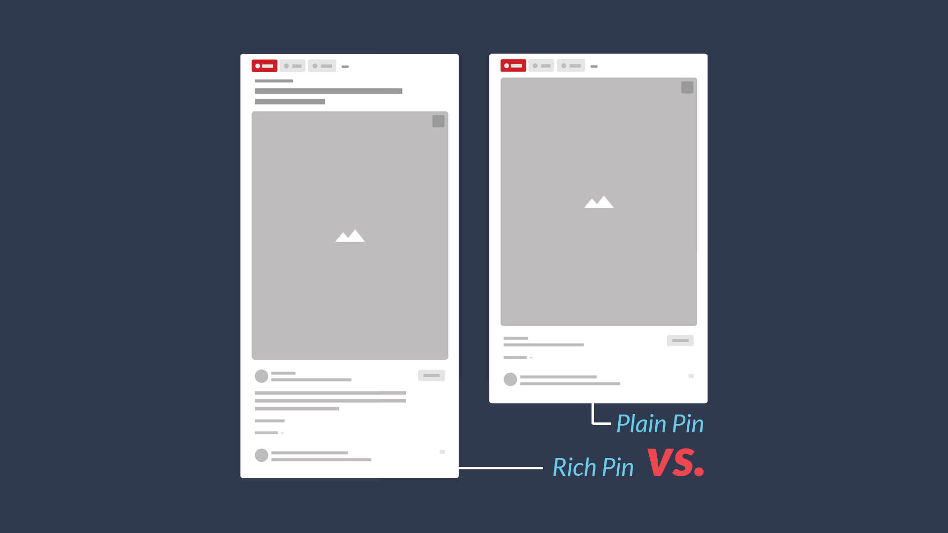 Pinterest Rich Pins vs. Plain Pins
