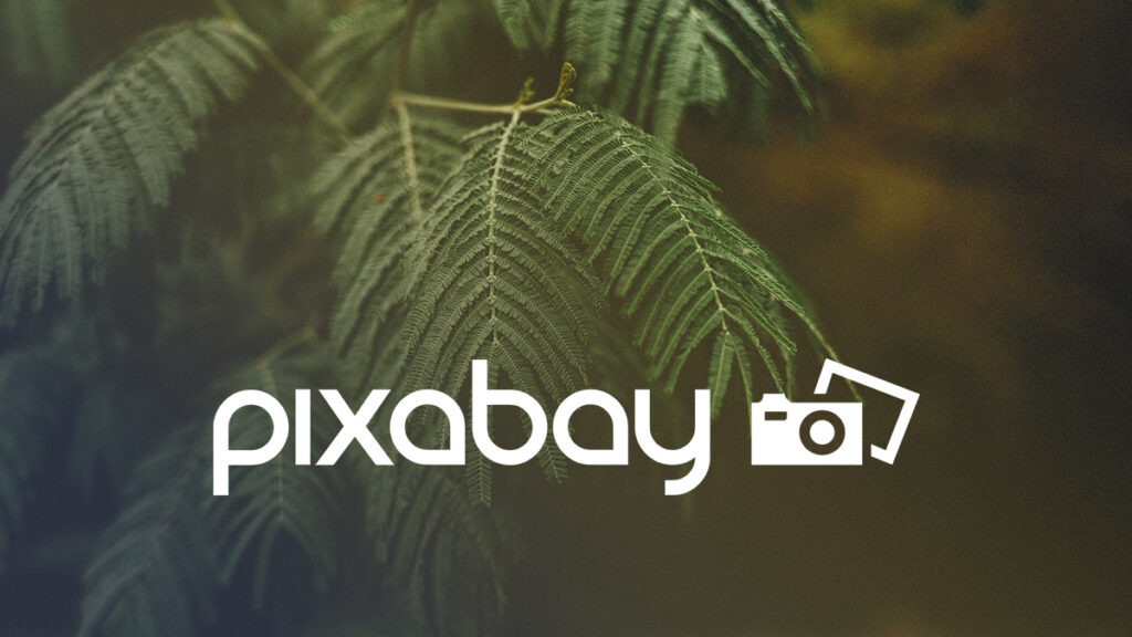 Pixabay Logo Wallpaper