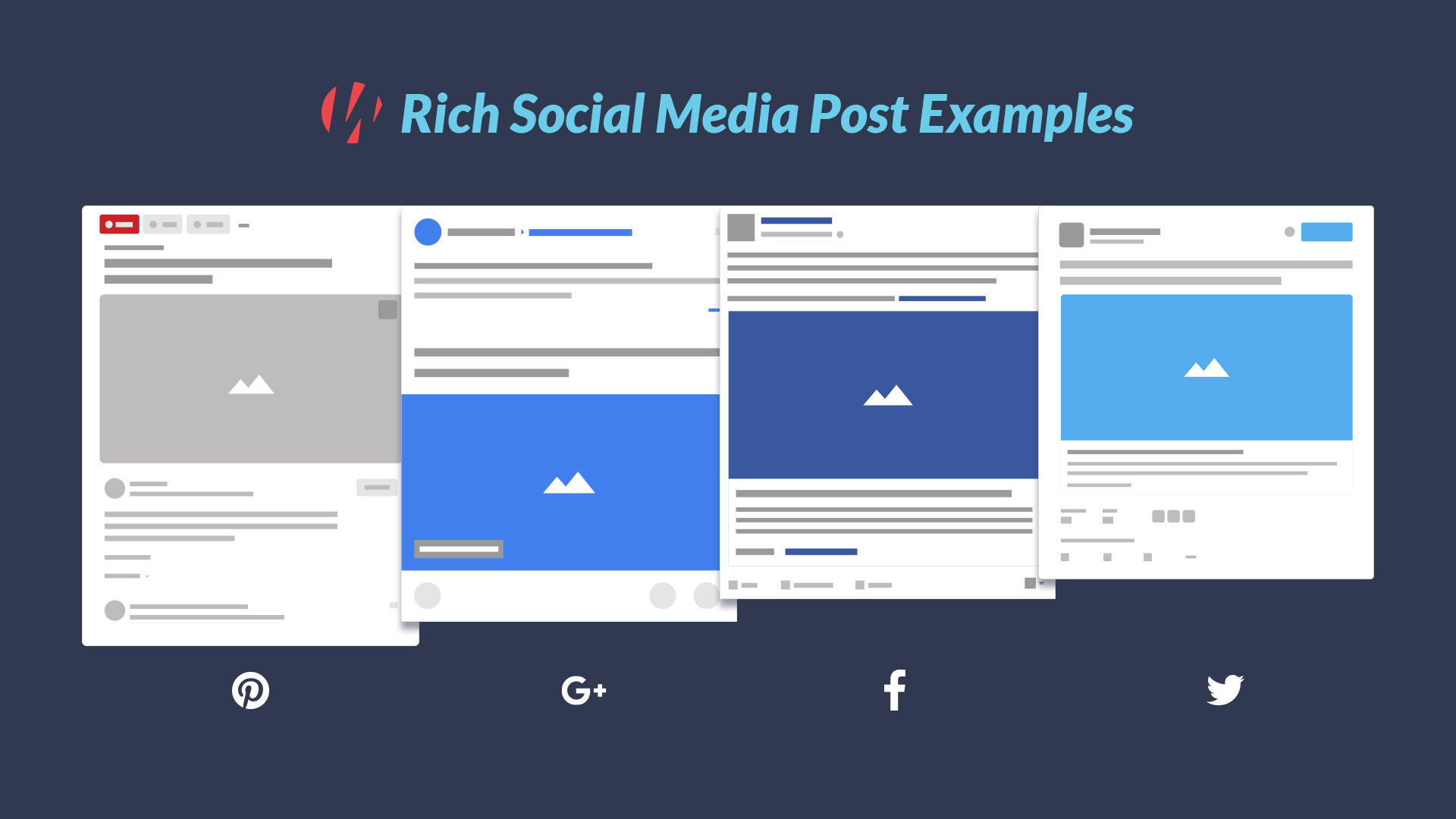 social media rich snippet examples