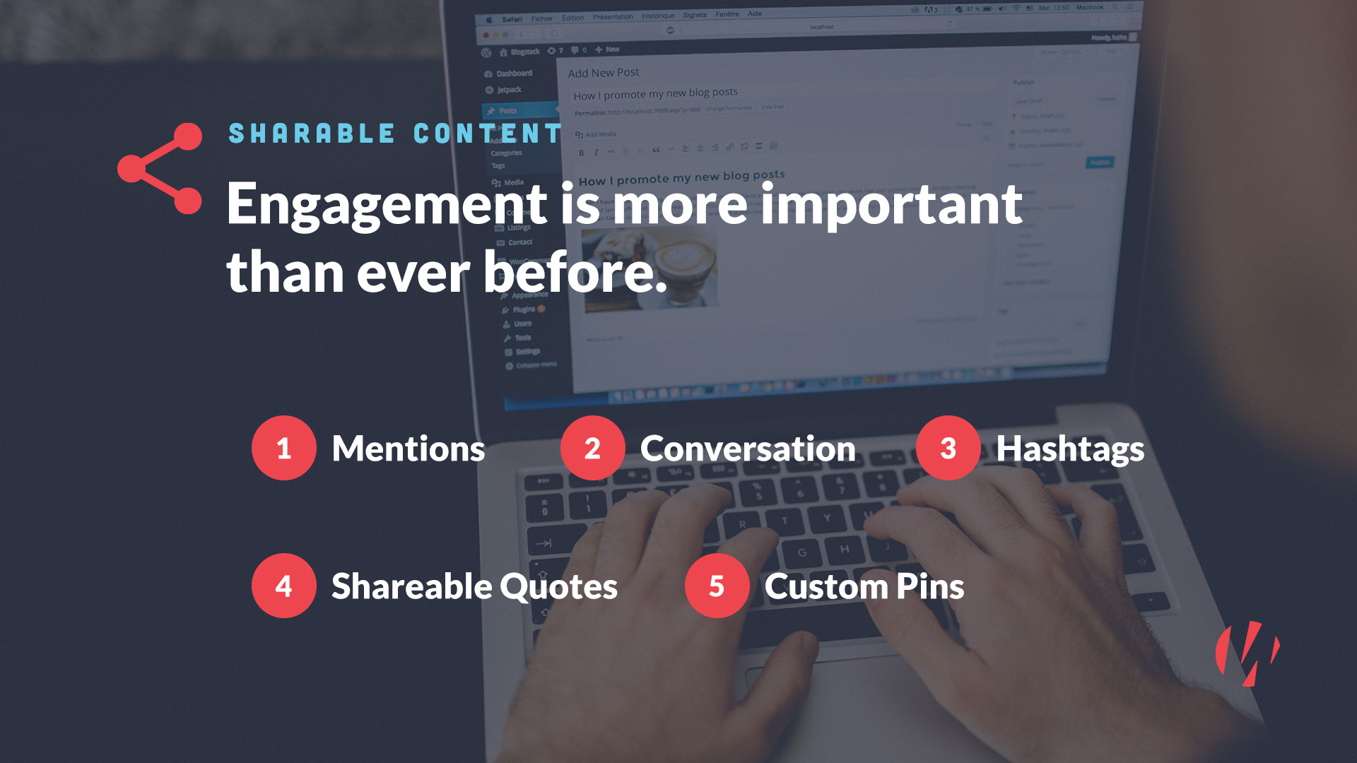 sharable content tips engagement