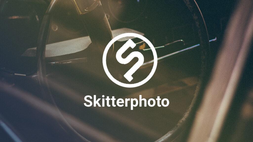Skitterphoto Logo Wallpaper