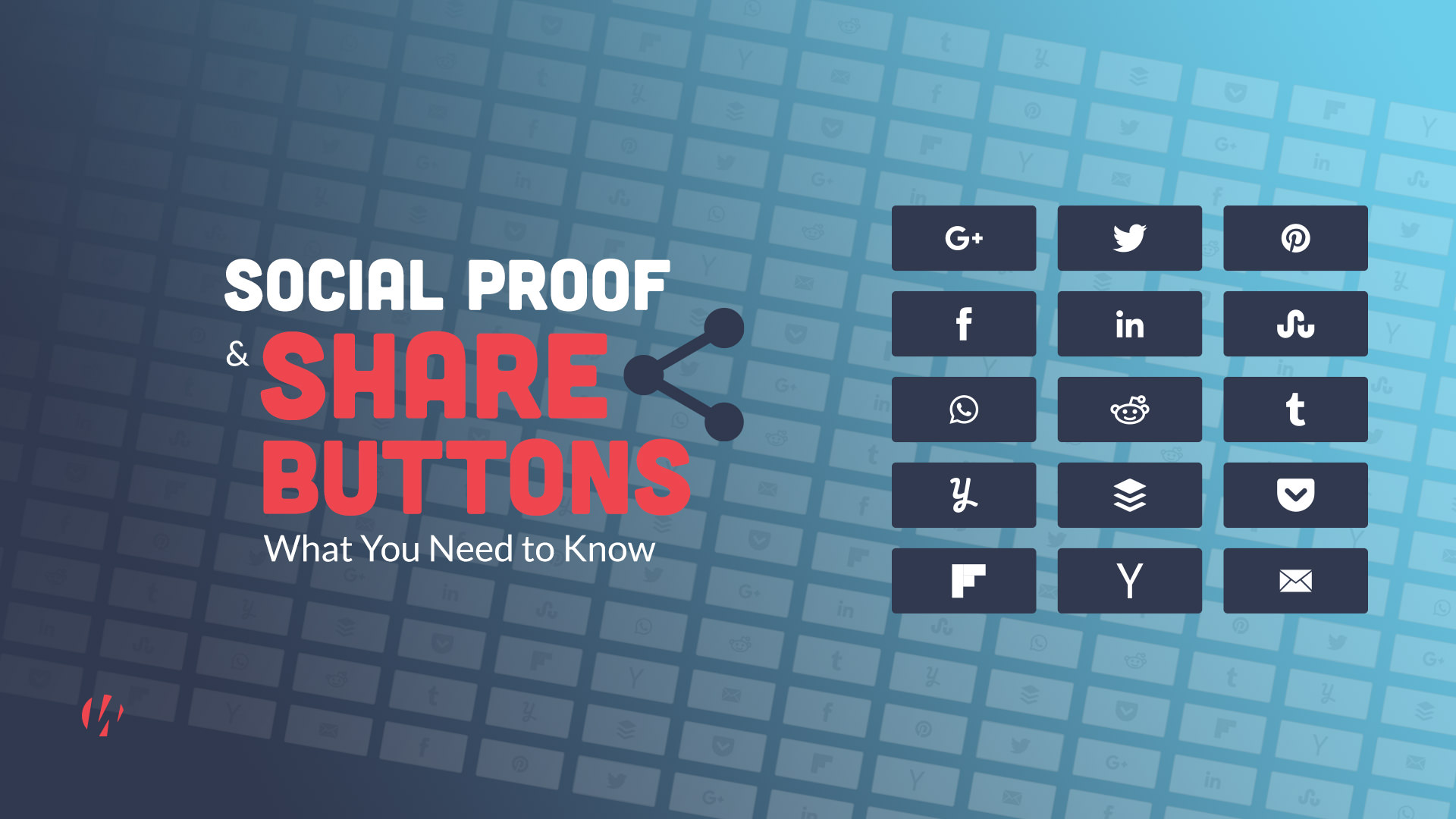 social proof share buttons