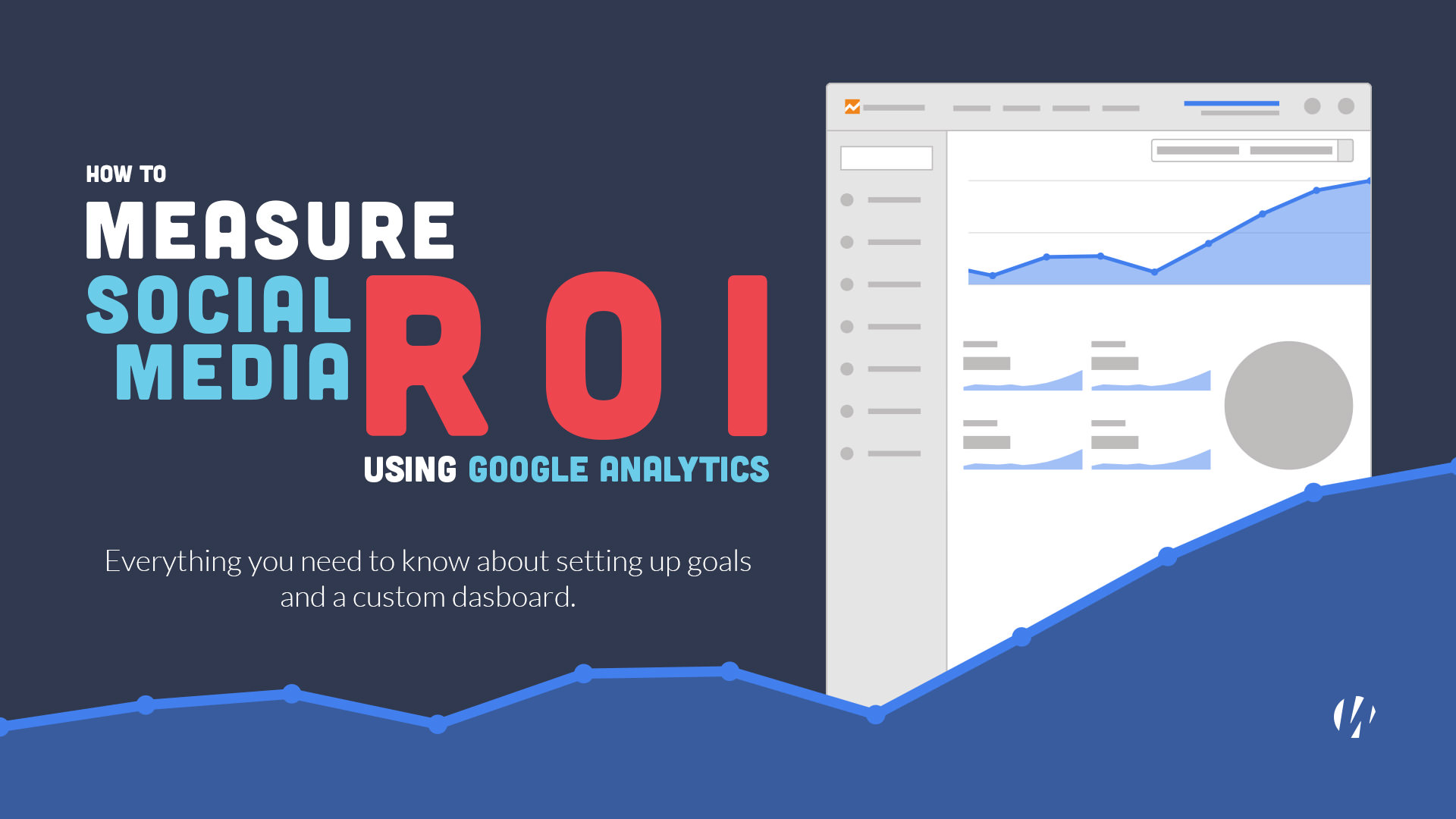 social media roi in google analytics