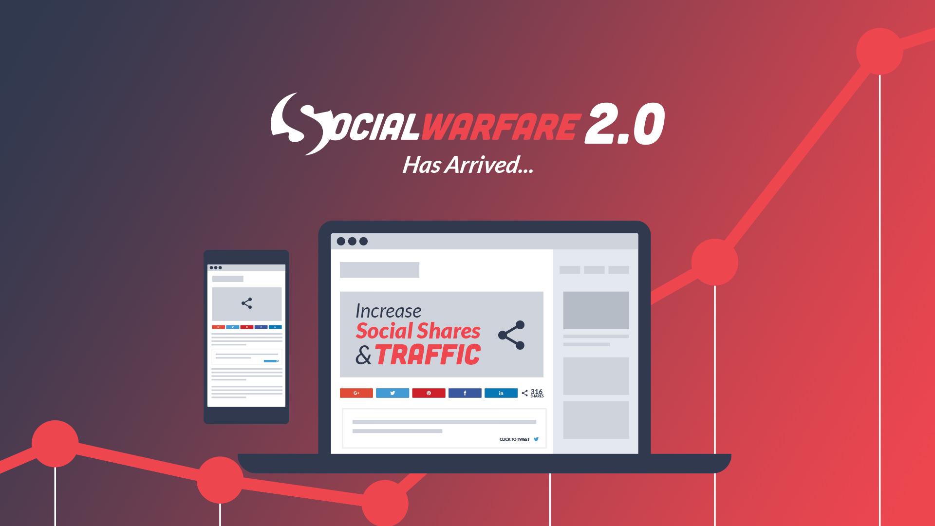 social warfare 2.0 launches
